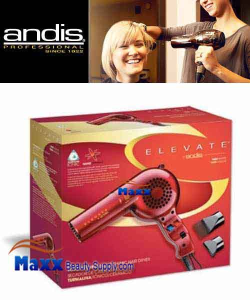 Andis #30865 Elevate Tourmaline Ionic Ceramic Hair Dryer